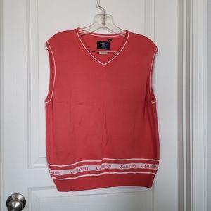 Callaway xl golf vest top